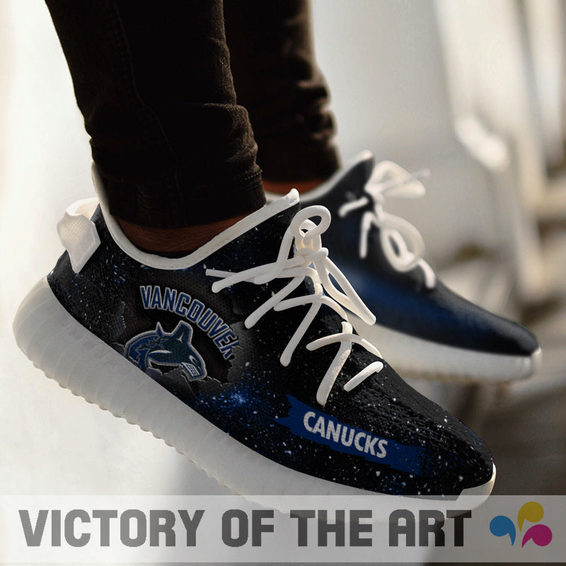 Art Scratch Mystery Vancouver Canucks Shoes Yeezy