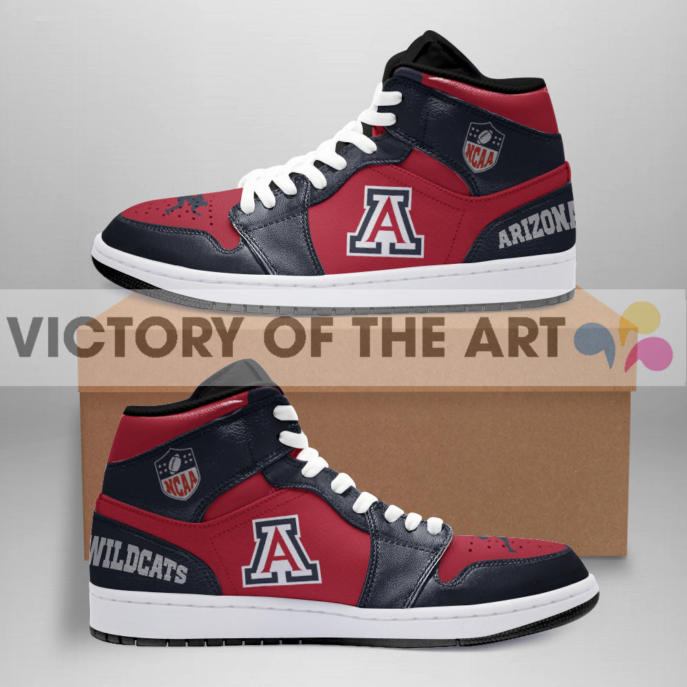 Simple Logo Arizona Wildcats Jordan Shoes