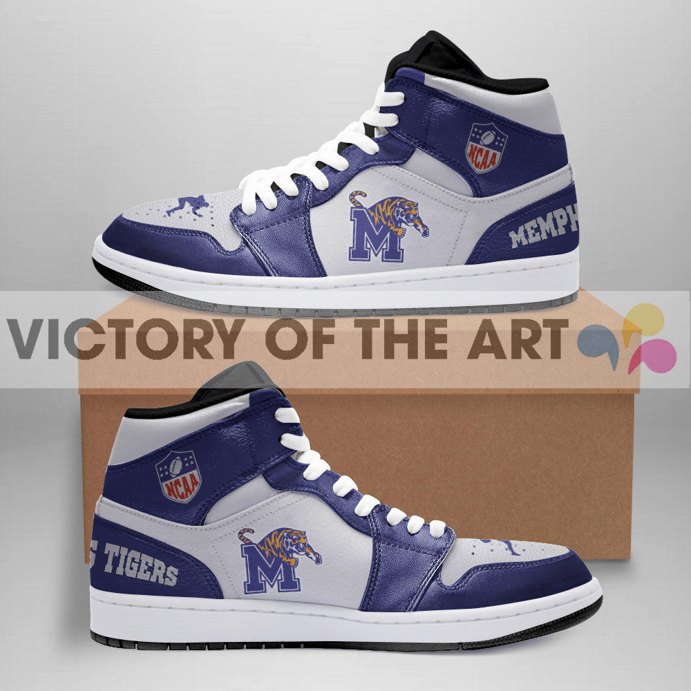 Simple Logo Memphis Tigers Jordan Shoes