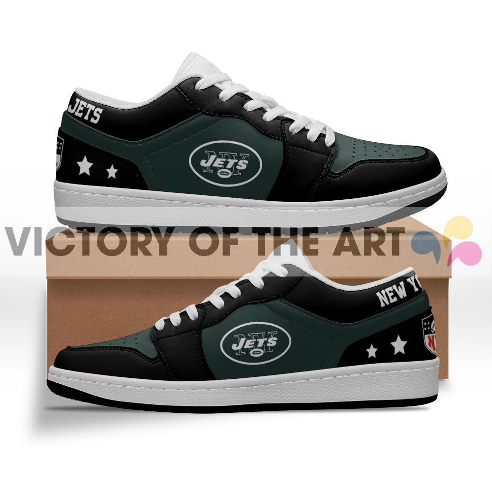 Gorgeous Simple Logo New York Jets Low Jordan Shoes