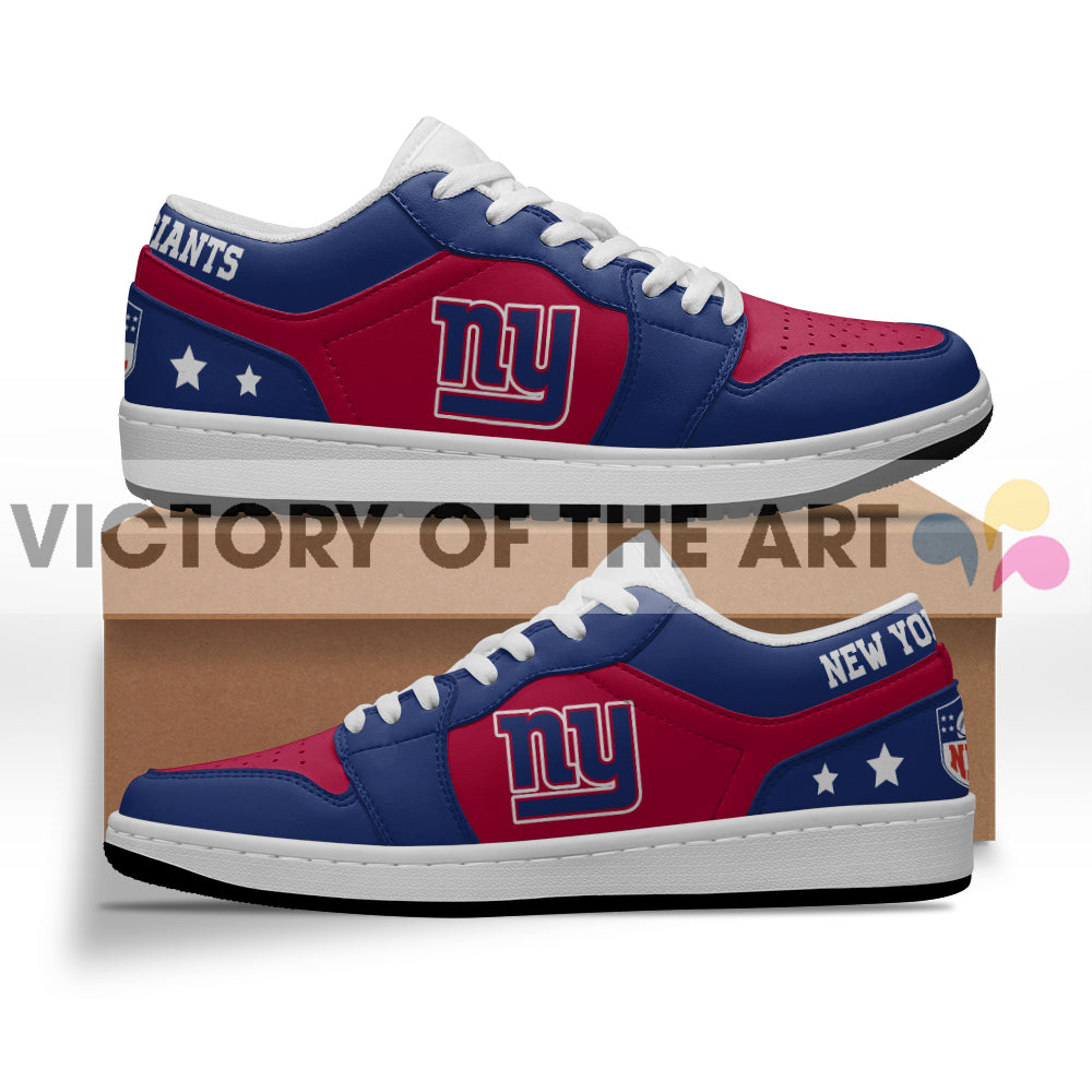 Gorgeous Simple Logo New York Giants Low Jordan Shoes