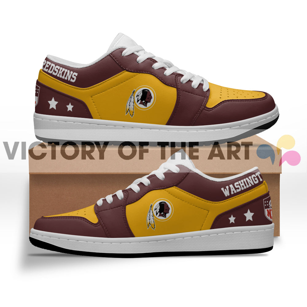 Gorgeous Simple Logo Washington Redskins Low Jordan Shoes