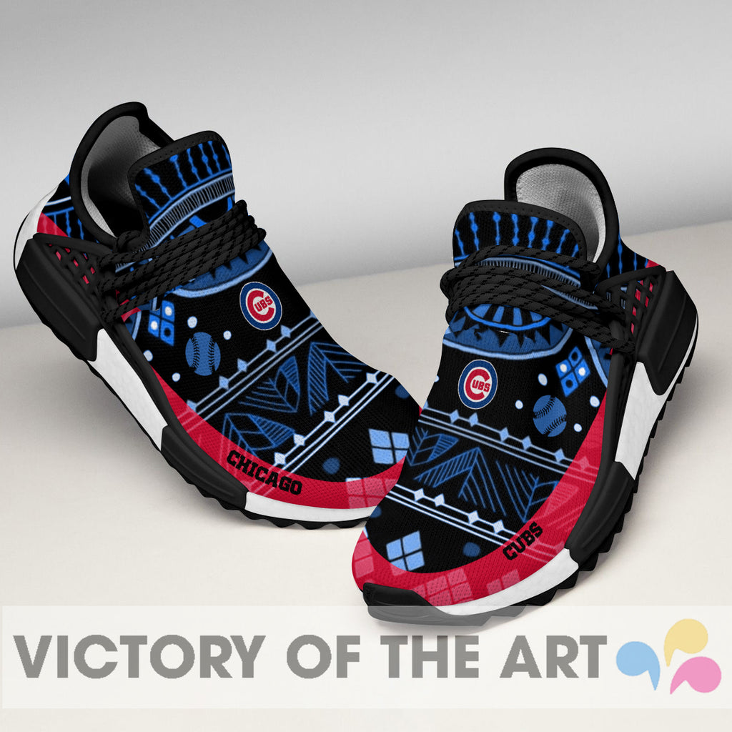 Wonderful Pattern Human Race Chicago Cubs Shoes For Fans