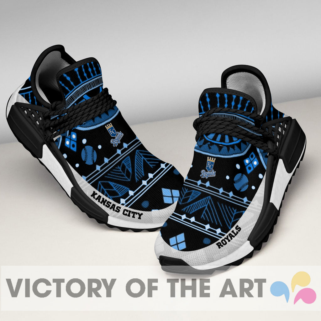 Wonderful Pattern Human Race Kansas City Royals Shoes For Fans