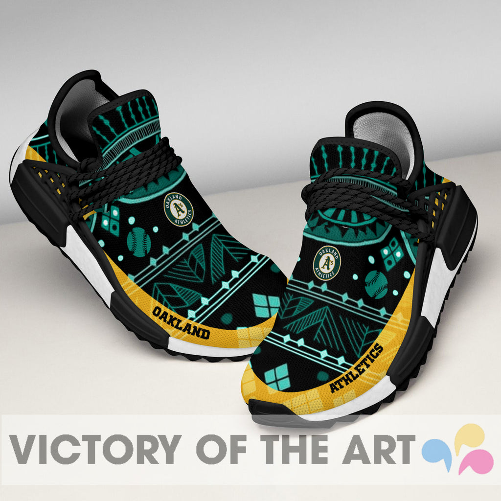 Wonderful Pattern Human Race Oakland Athletics Shoes For Fans