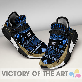 Wonderful Pattern Human Race Akron Zips Shoes For Fans