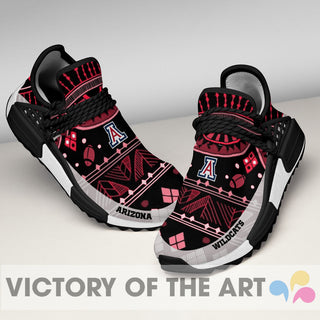 Wonderful Pattern Human Race Arizona Wildcats Shoes For Fans