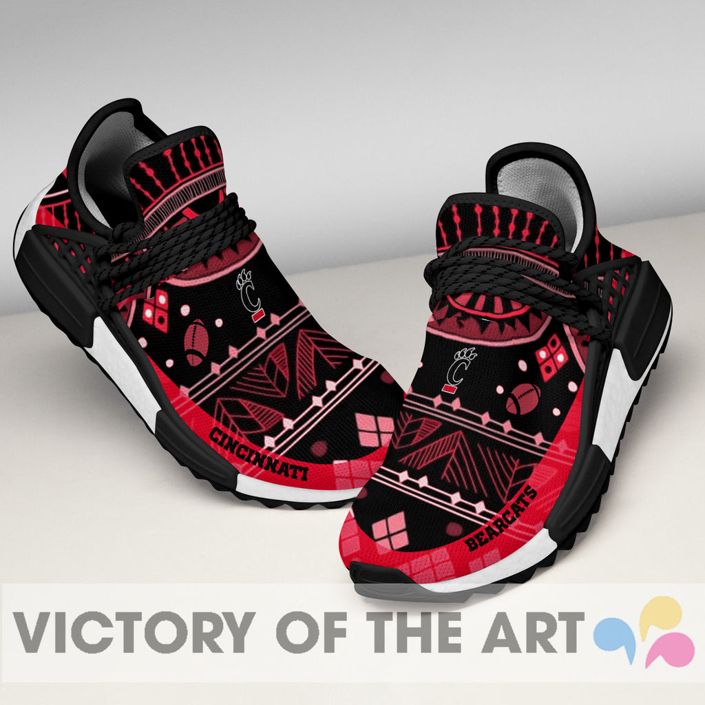 Wonderful Pattern Human Race Cincinnati Bearcats Shoes For Fans