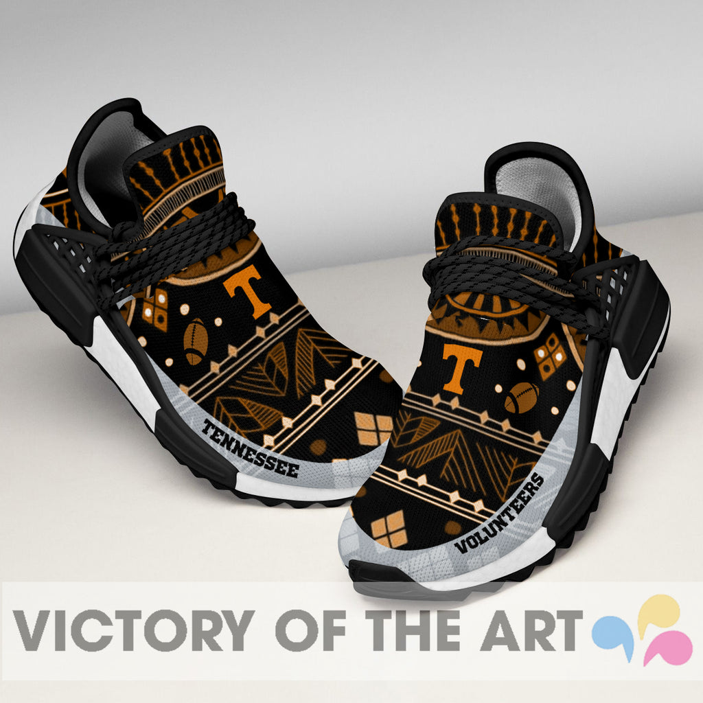 Wonderful Pattern Human Race Tennessee Volunteers Shoes For Fans
