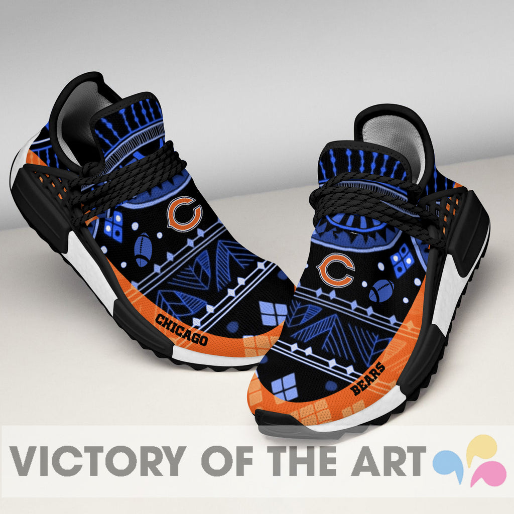Wonderful Pattern Human Race Chicago Bears Shoes For Fans