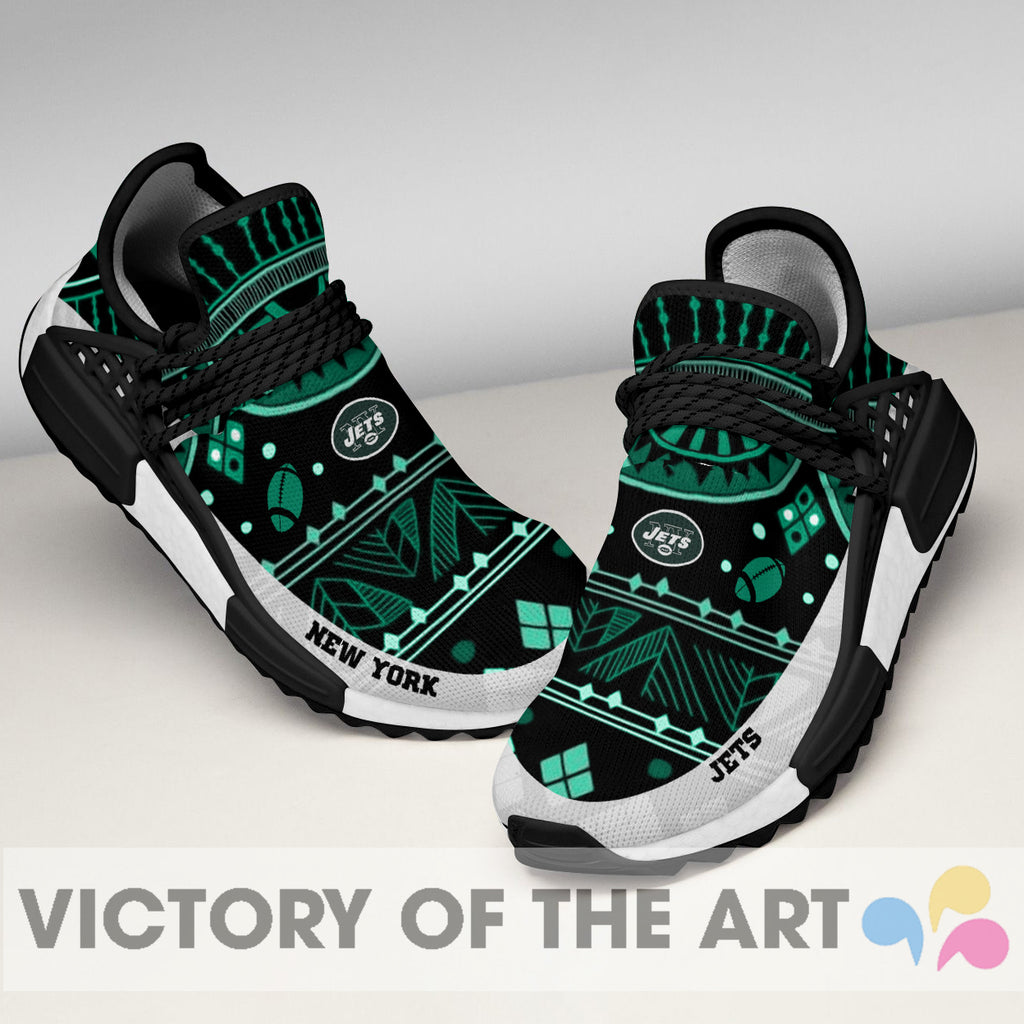 Wonderful Pattern Human Race New York Jets Shoes For Fans
