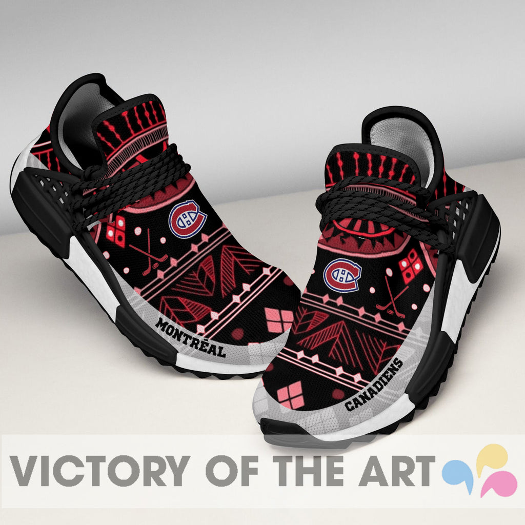 Wonderful Pattern Human Race Montreal Canadiens Shoes For Fans