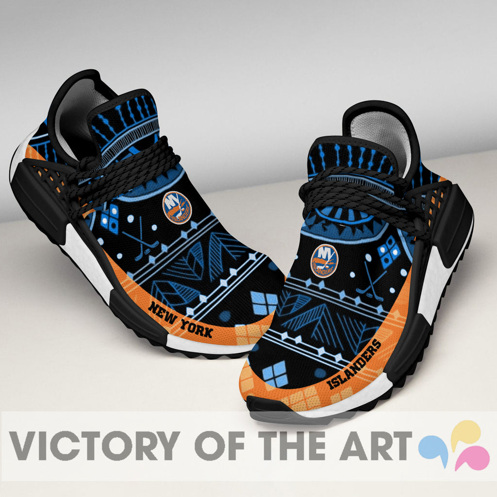 Wonderful Pattern Human Race New York Islanders Shoes For Fans