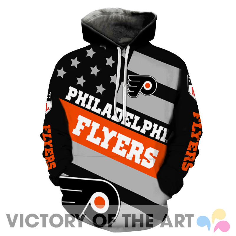 American Stars Proud Of Philadelphia Flyers Hoodie