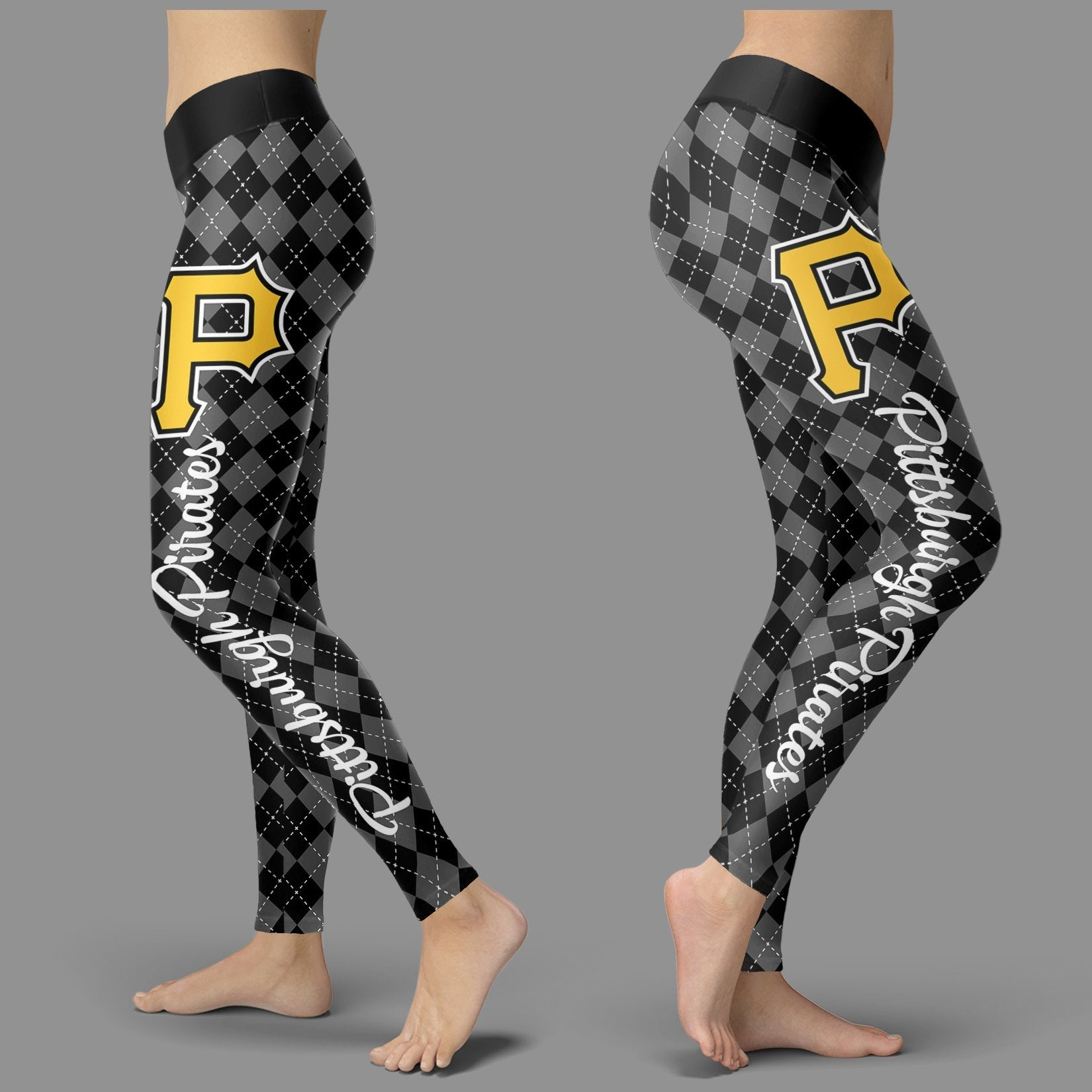 Cosy Seamless Colorful Pittsburgh Pirates Leggings