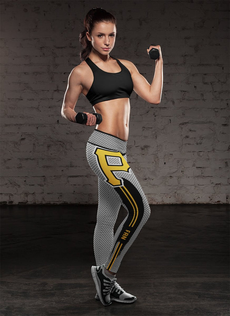 Charming Lovely Fashion Pittsburgh Pirates Leggings