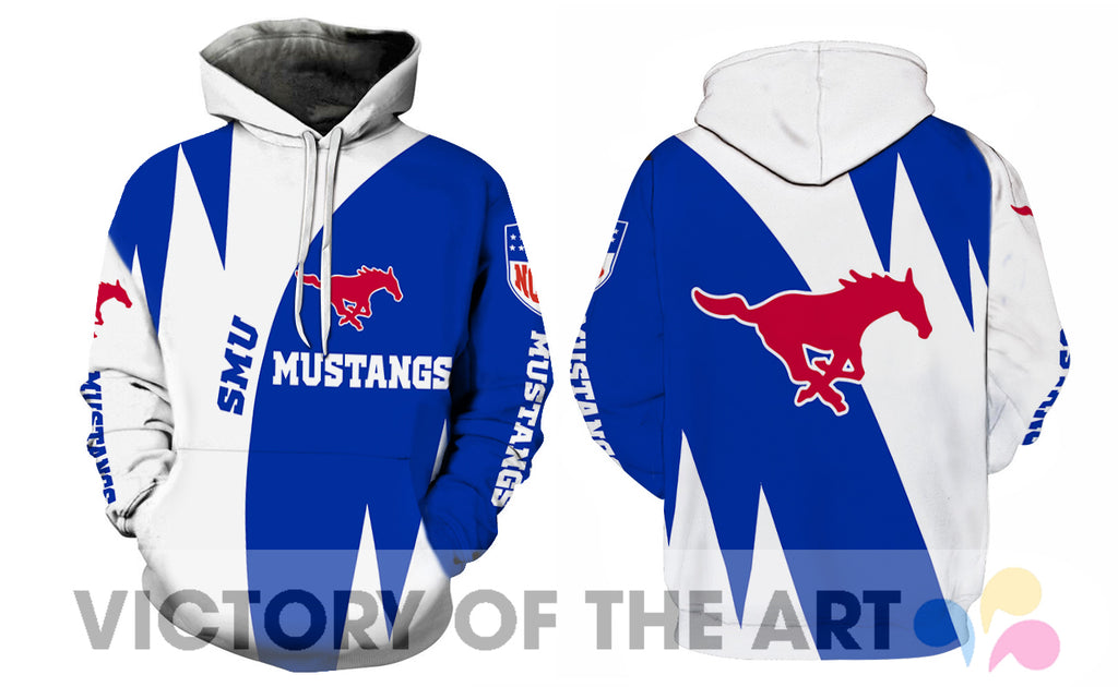 Stronger With Unique SMU Mustangs Hoodie
