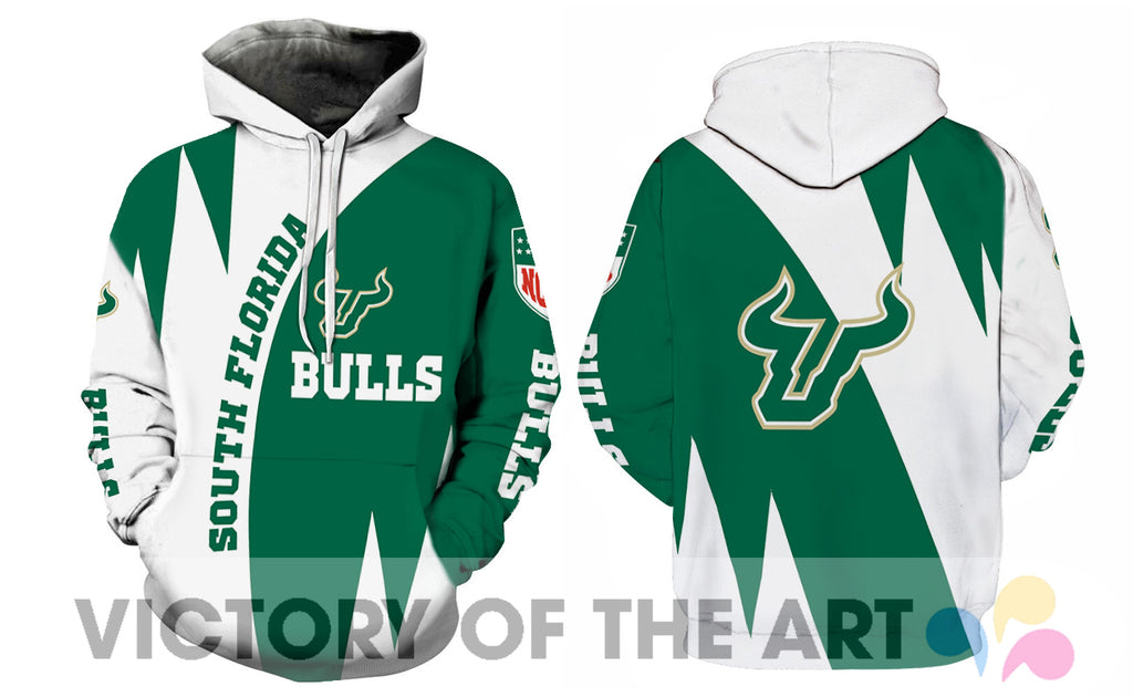Stronger With Unique South Florida Bulls Hoodie