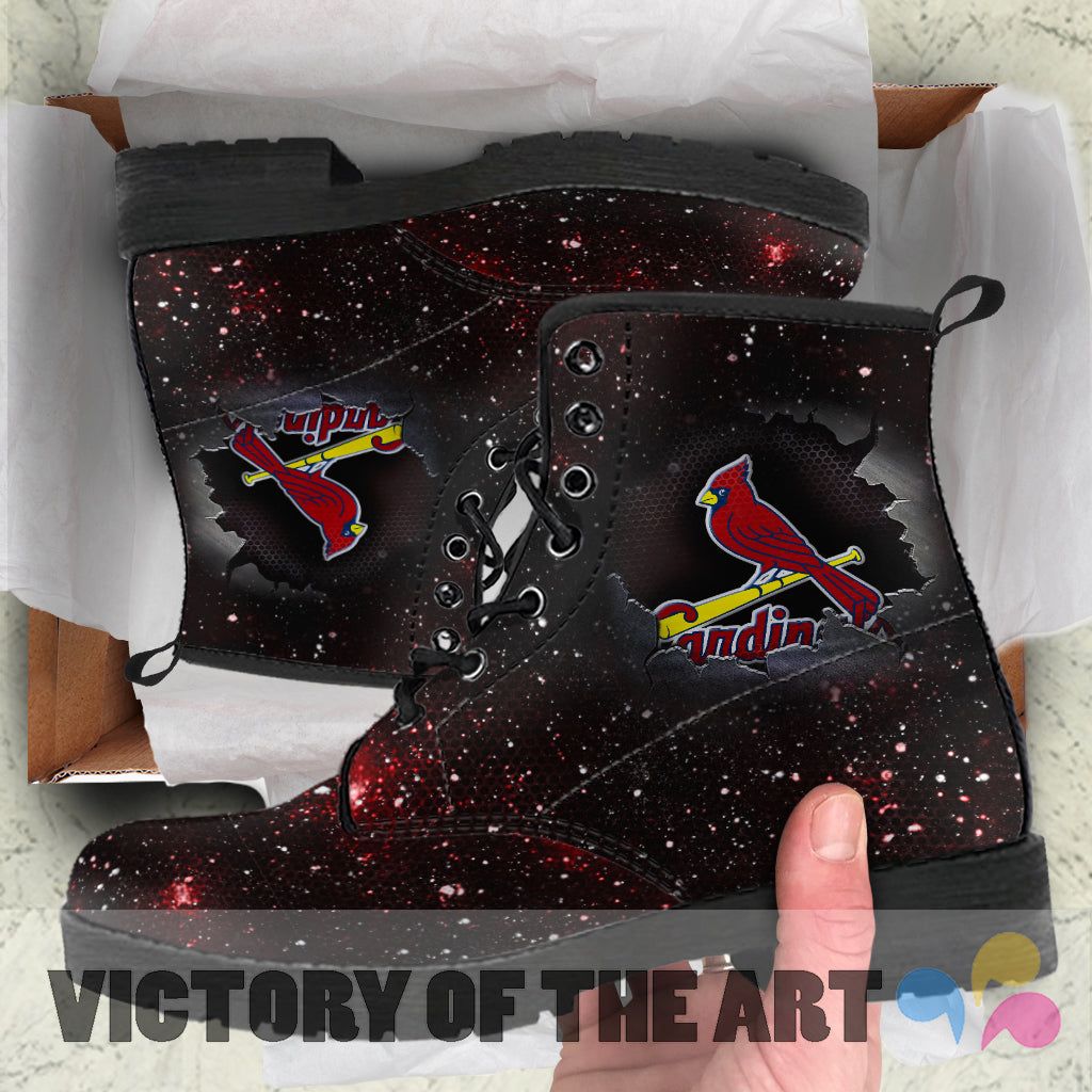 Art Scratch Mystery St. Louis Cardinals Boots
