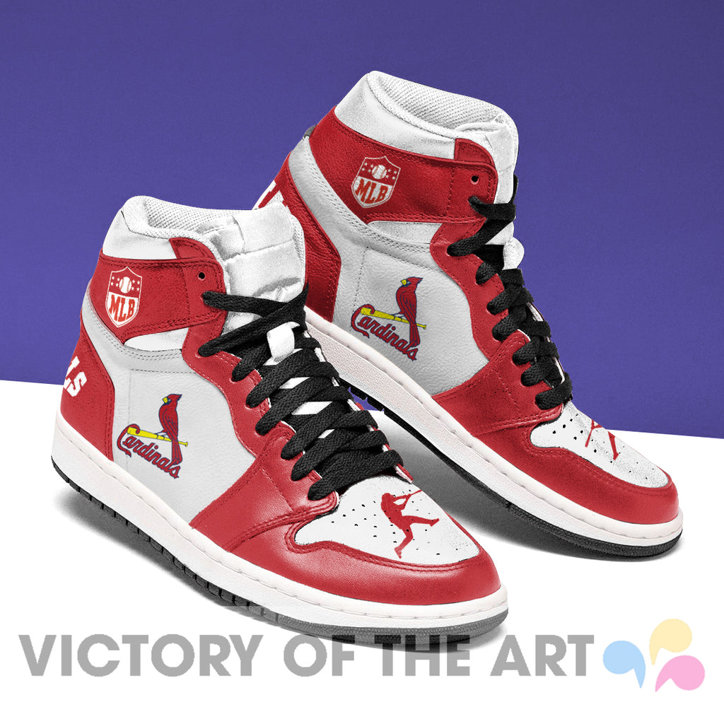 Simple Logo St. Louis Cardinals Jordan Shoes