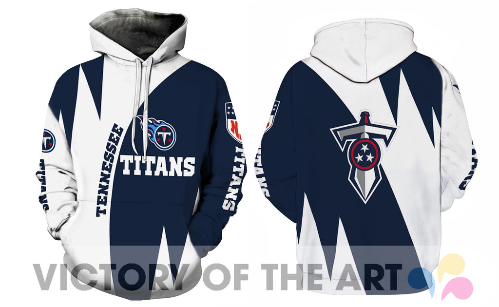 Stronger With Unique Tennessee Titans Hoodie