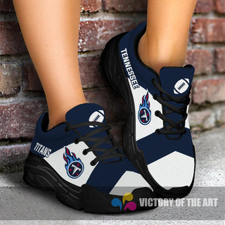 Pro Shop Logo Tennessee Titans Chunky Sneakers