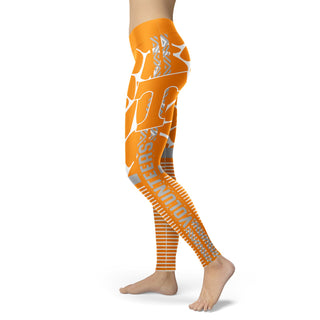 Awesome Light Attractive Tennessee Volunteers Leggings