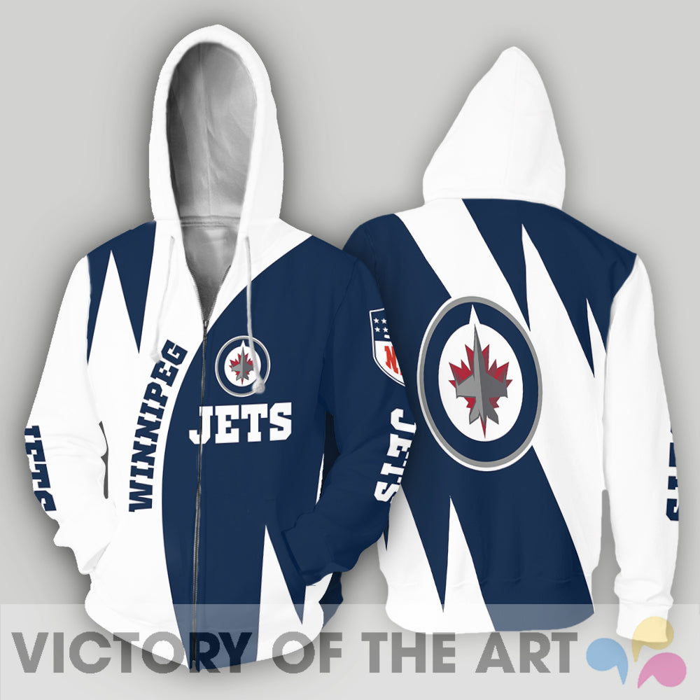 Stronger With Unique Winnipeg Jets Hoodie