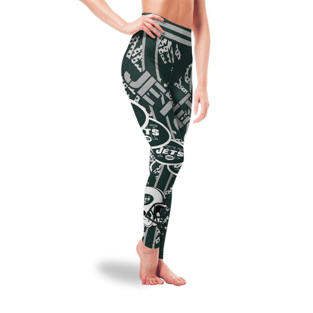 Sign Marvelous Awesome New York Jets Leggings