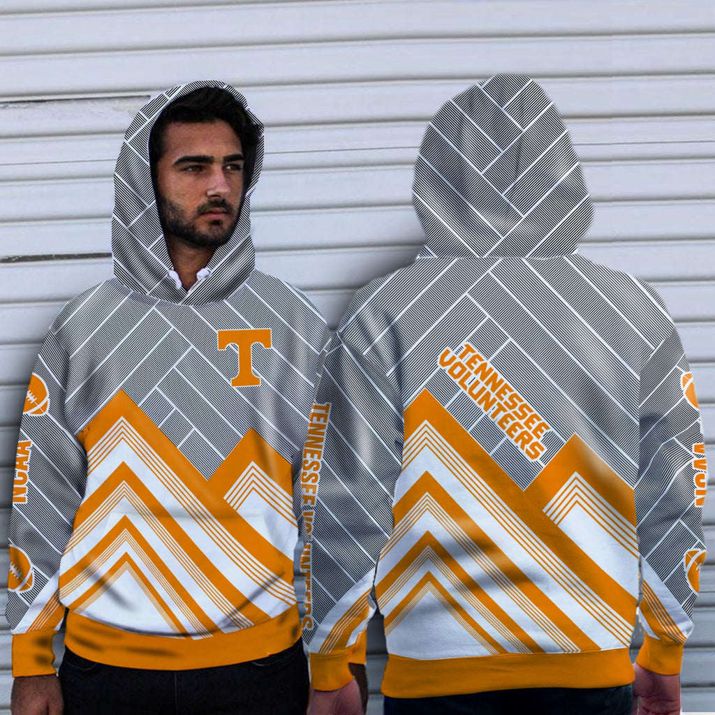 Simple Cross Line Tennessee Volunteers Hoodie