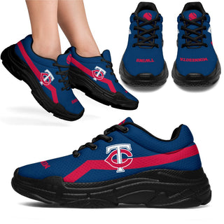 Edition Chunky Sneakers With Pro Minnesota Twins Shoes