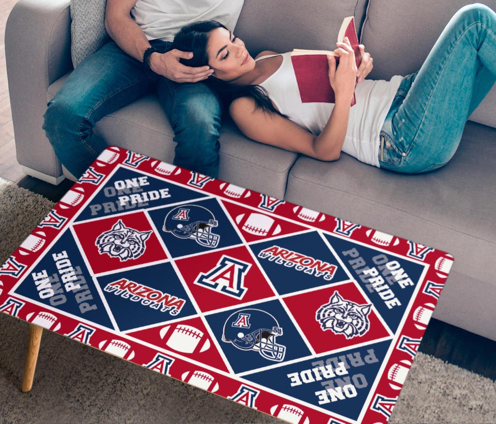 Pride Flag Arizona Wildcats Coffee Table
