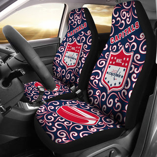 Awesome Artist SUV Washington Capitals Seat Covers Sets For Car