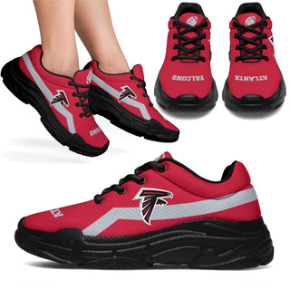 Edition Chunky Sneakers With Pro Atlanta Falcons Shoes