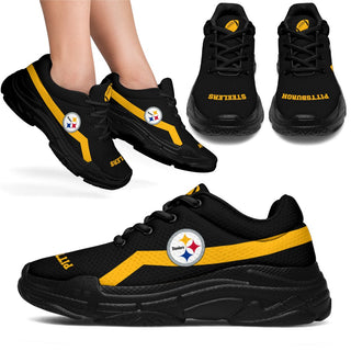 Edition Chunky Sneakers With Pro Pittsburgh Steelers Shoes