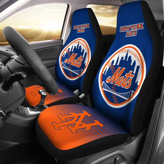 New Fashion Fantastic New York Mets Car Seat Covers