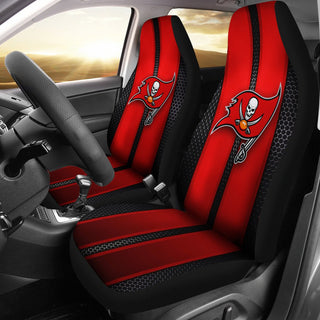 Incredible Line Pattern Tampa Bay Buccaneers Logo Car Seat Covers