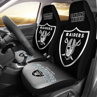 New Fashion Fantastic Oakland Raiders Car Seat Covers