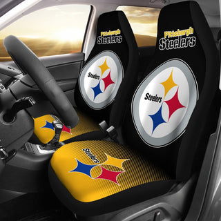 New Fashion Fantastic Pittsburgh Steelers Car Seat Covers