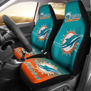 New Fashion Fantastic Miami Dolphins Car Seat Covers