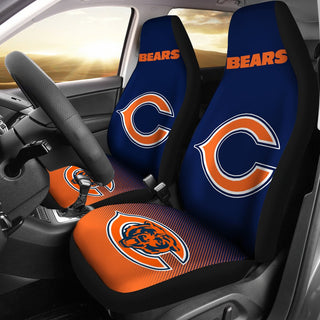 New Fashion Fantastic Chicago Bears Car Seat Covers