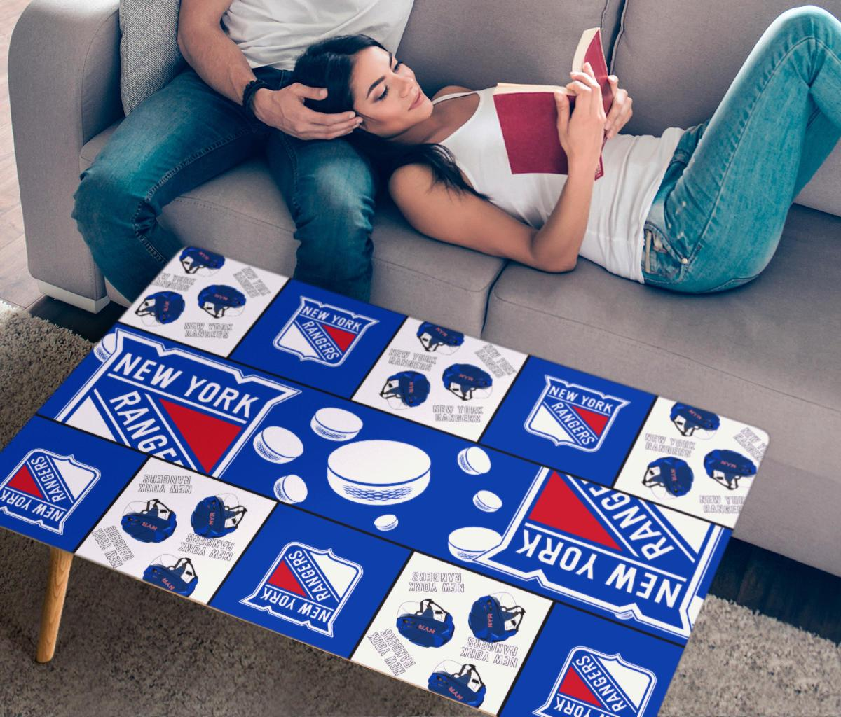 Pro Shop New York Rangers Coffee Table For Family Fans