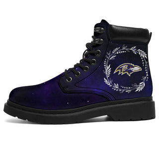 Colorful Baltimore Ravens Boots All Season