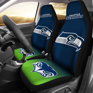 New Fashion Fantastic Seattle Seahawks Car Seat Covers