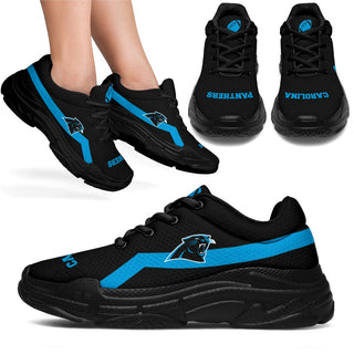 Edition Chunky Sneakers With Pro Carolina Panthers Shoes