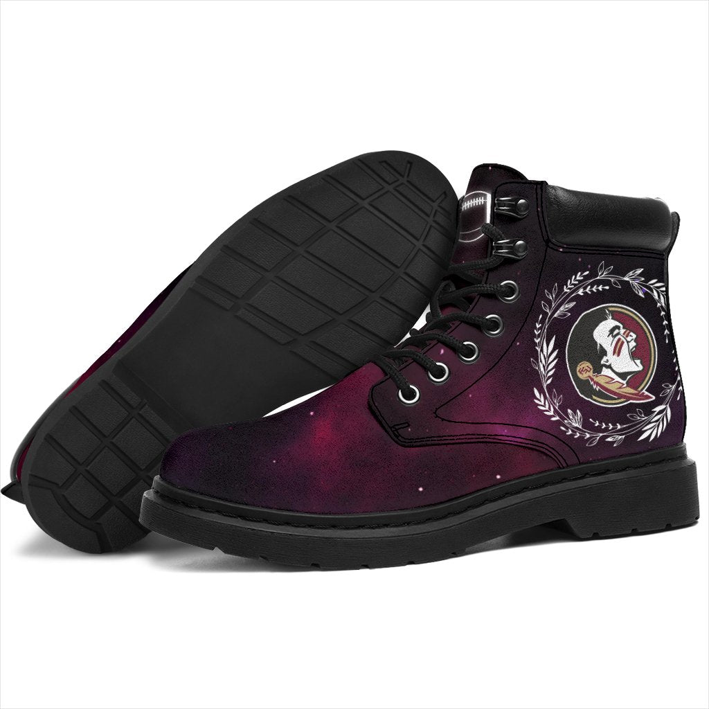 Colorful Florida State Seminoles Boots All Season