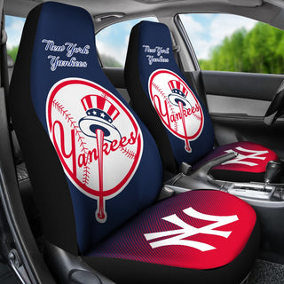 New Fashion Fantastic New York Yankees Car Seat Covers