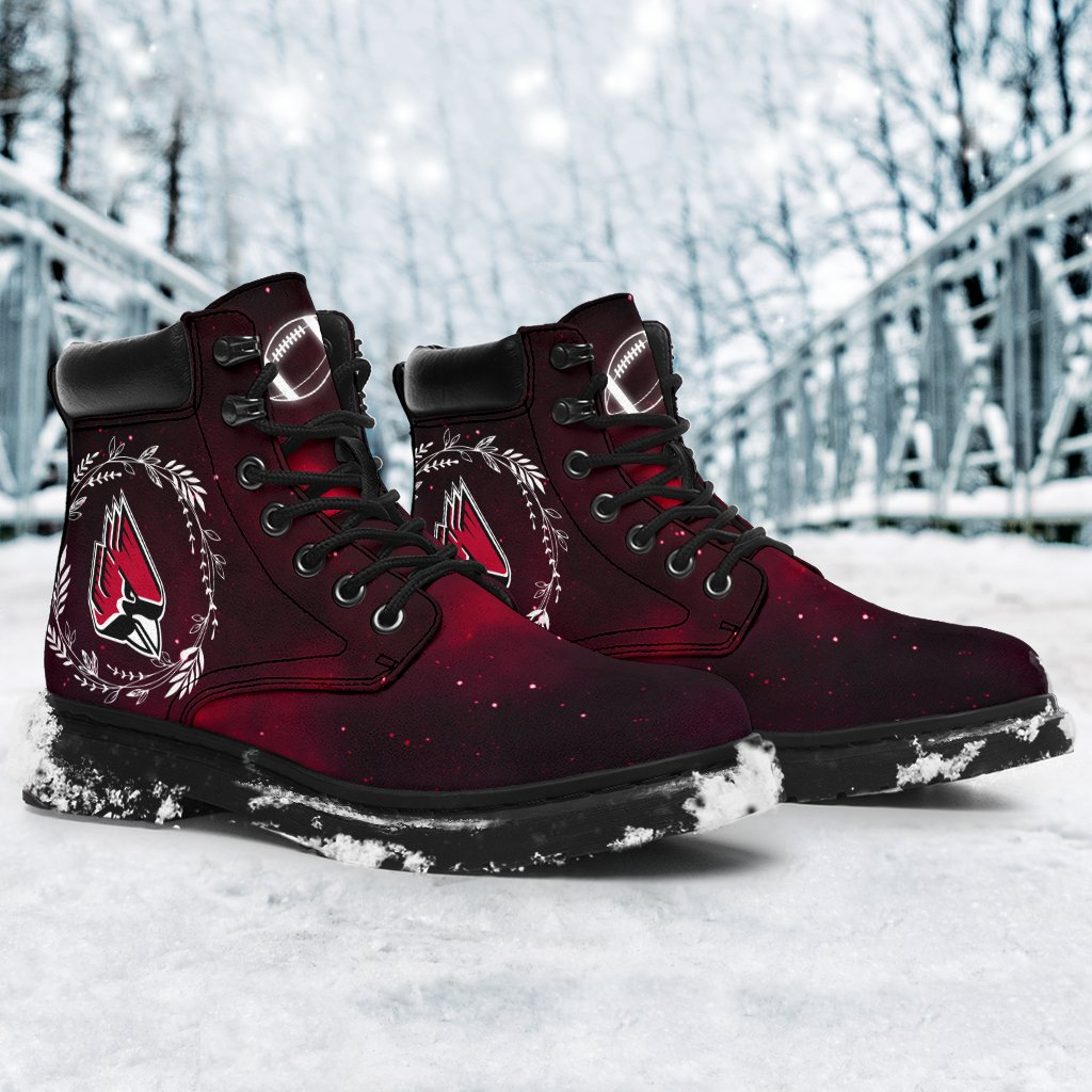Colorful Ball State Cardinals Boots All Season