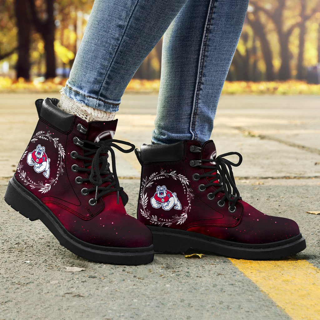 Colorful Fresno State Bulldogs Boots All Season