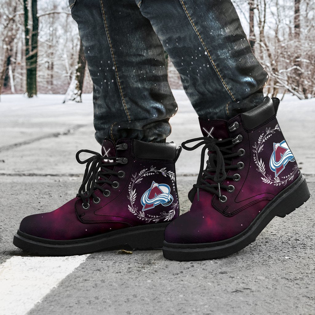 Colorful Colorado Avalanche Boots All Season